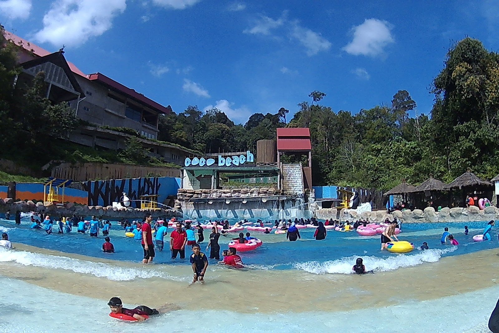 Coco Beach- Gambang Waterpark