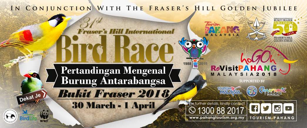 Fraser's Hill International Bird Race 2018