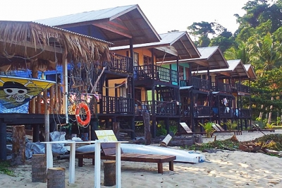 Beach Shack Hut Chalets